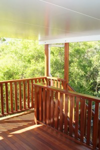 Customised Deck Stairs