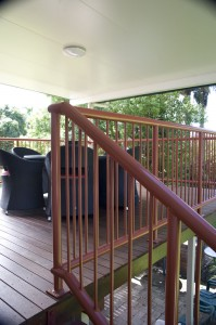 Customised Stair Deck