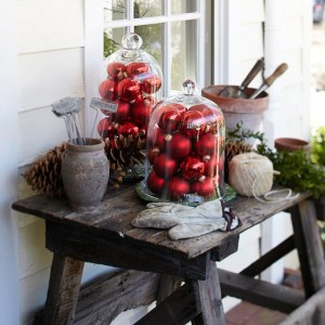outdoor entertaining at christmas