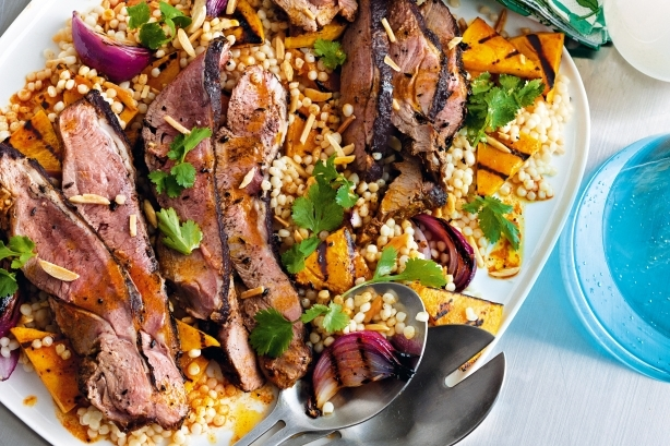 Barbecue Lamb Recipe