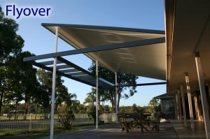 Flyover Patio Roof