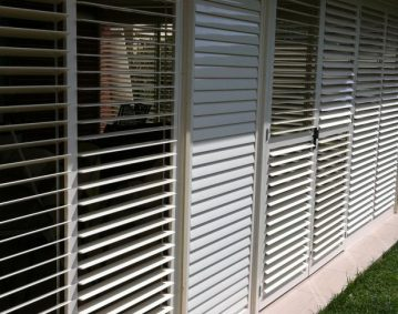 Aluminium Patio Shutters North Brisbane
