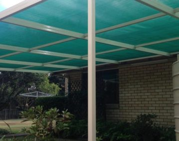 Aluminium Shade House Builder Brisbane